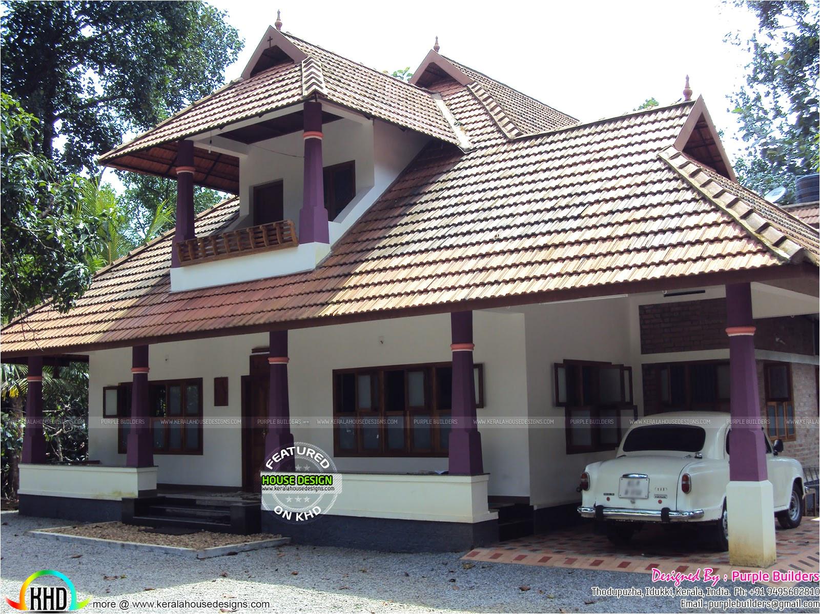 Nalukettu Home Plans Work Completed Nalukettu House Kerala Home Design and