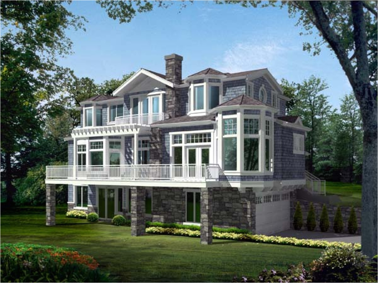 78235e457d9a371a narrow lot house plans lakefront lakefront house plans for homes