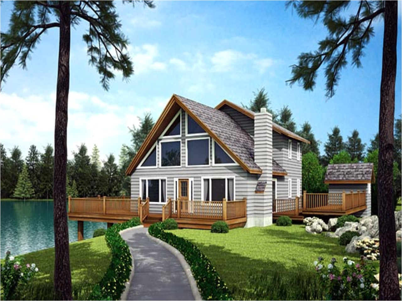 c0e7bdf4be55e935 waterfront homes house plans waterfront house with narrow lot floor plan