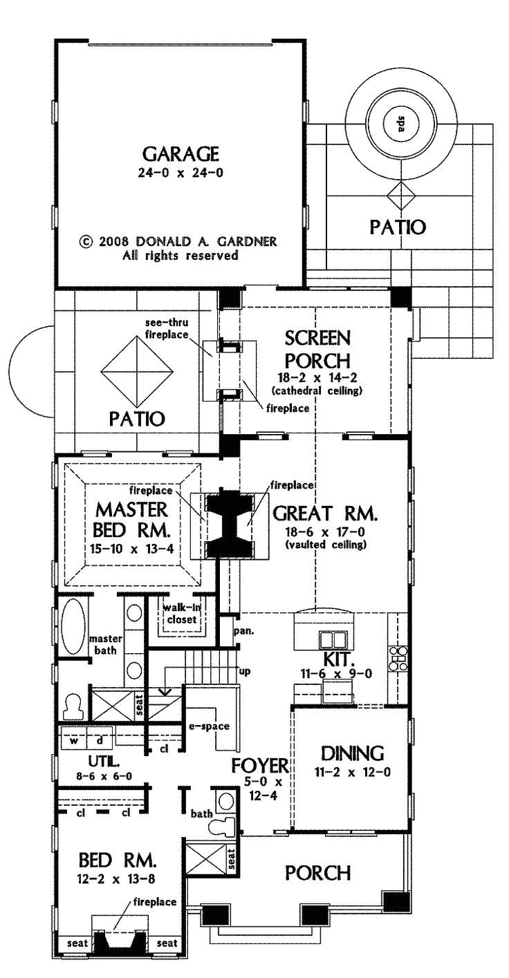 narrow lot house plans with side entry garage beautiful house plan part 3