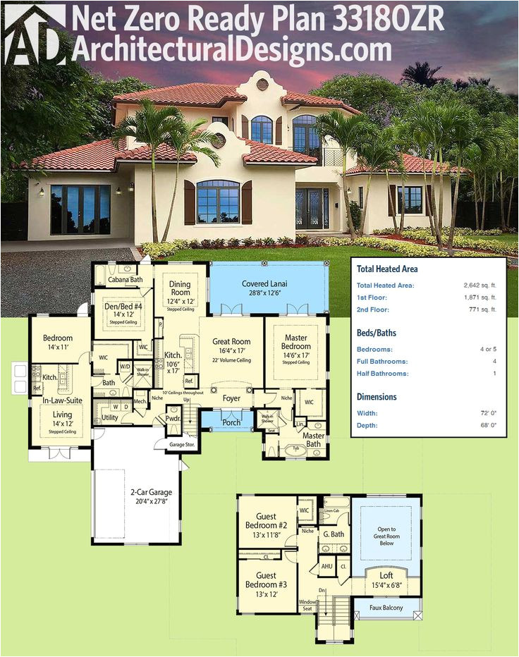 net zero ready house plans