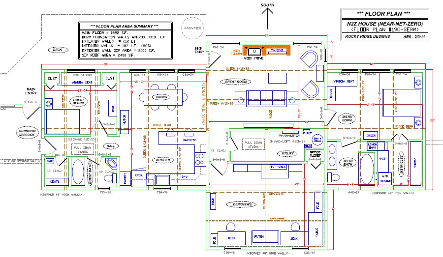 square floor plans for homes
