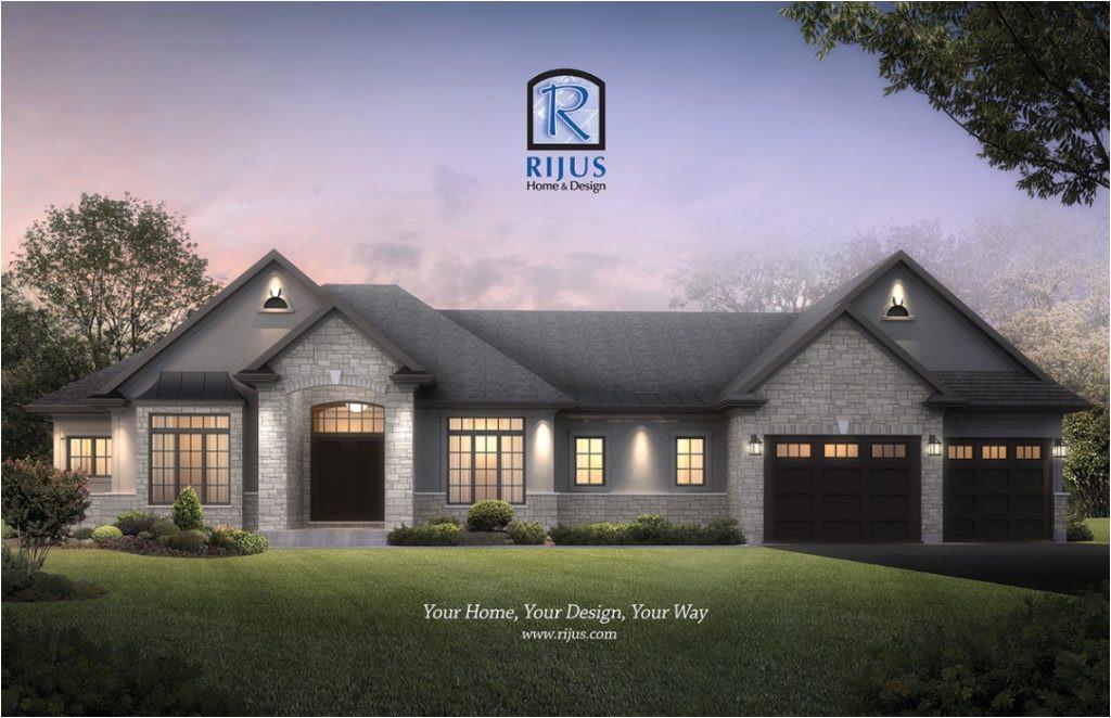 unique new home plans canada