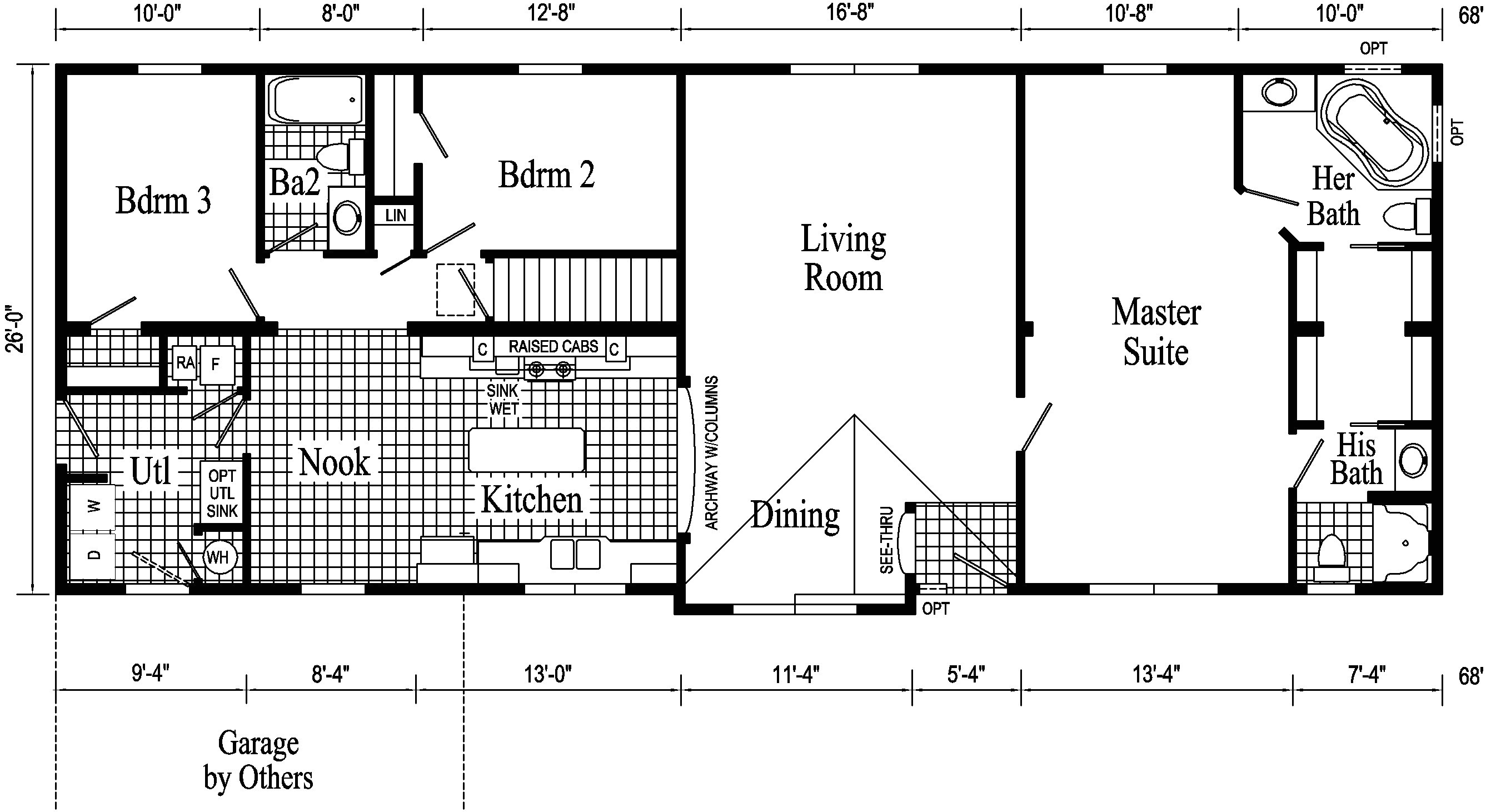 contemporary raised ranch house plans awesome 14 new rectangle shaped house plans