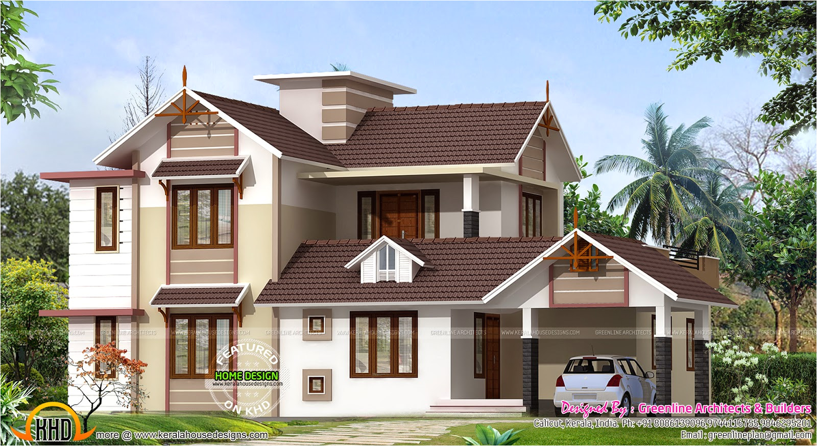 2400 sq ft new house design