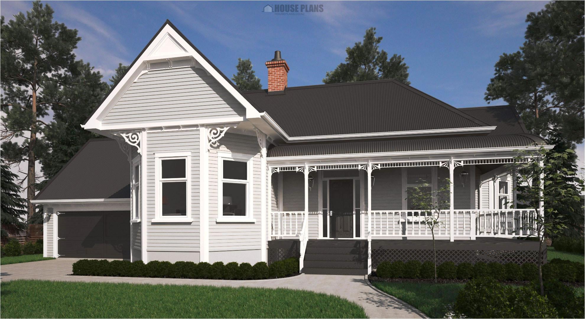 New Home Plans Nz Victorian Bay Villa House Plans New Zealand Ltd