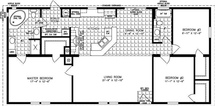 floor plans for mobile homes