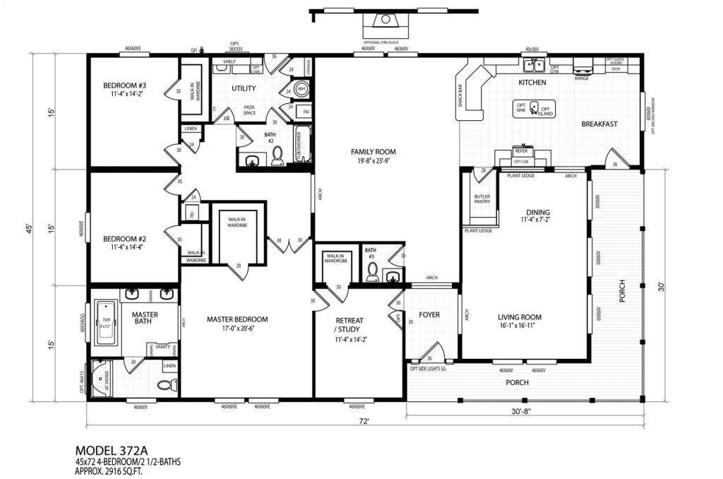 New Mobile Home Floor Plans Luxury New Mobile Home Floor Plans New Home Plans Design