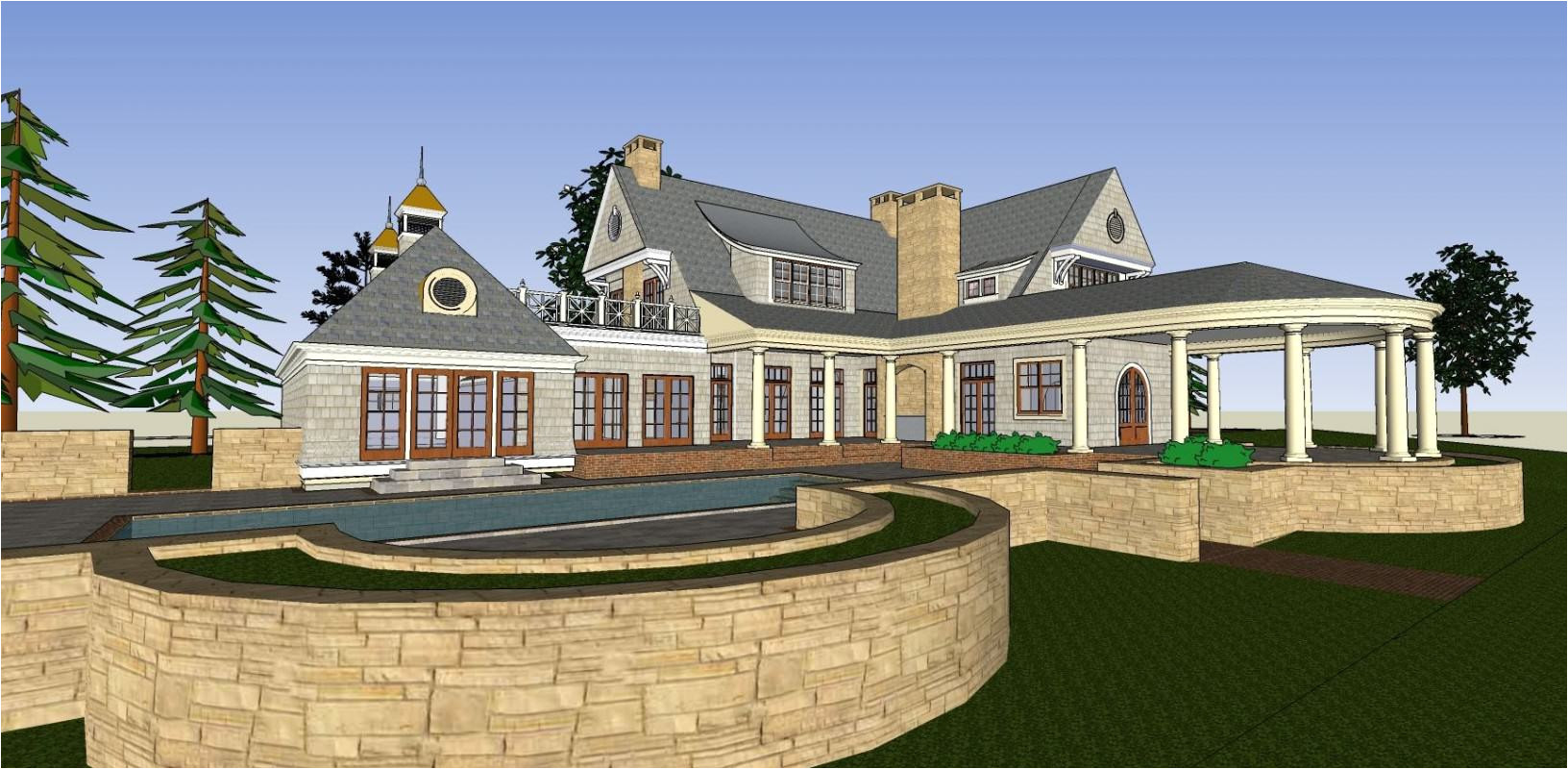 superb new old house plans 8 new old house architect house plans traditional home 3d model