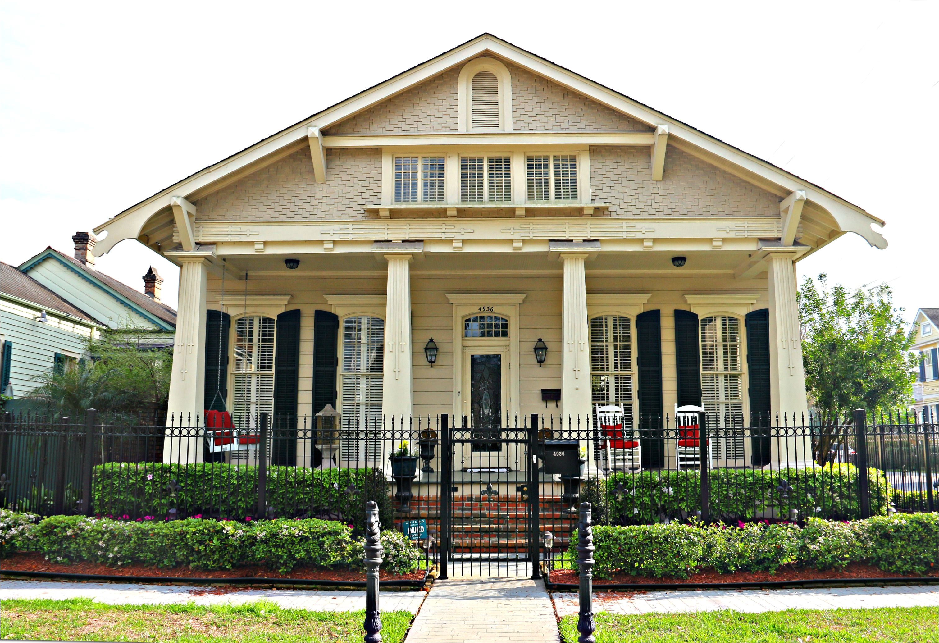 new orleans craftsman style homes