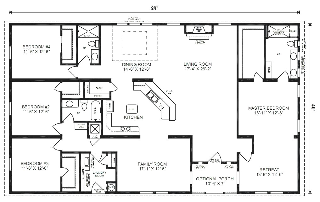 south carolina modular home floor plans