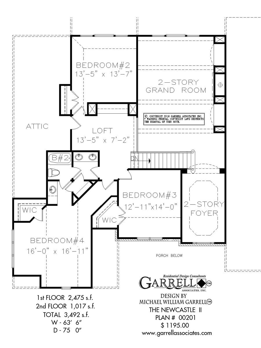 newcastle house plan