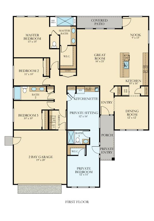 lennar floor plans