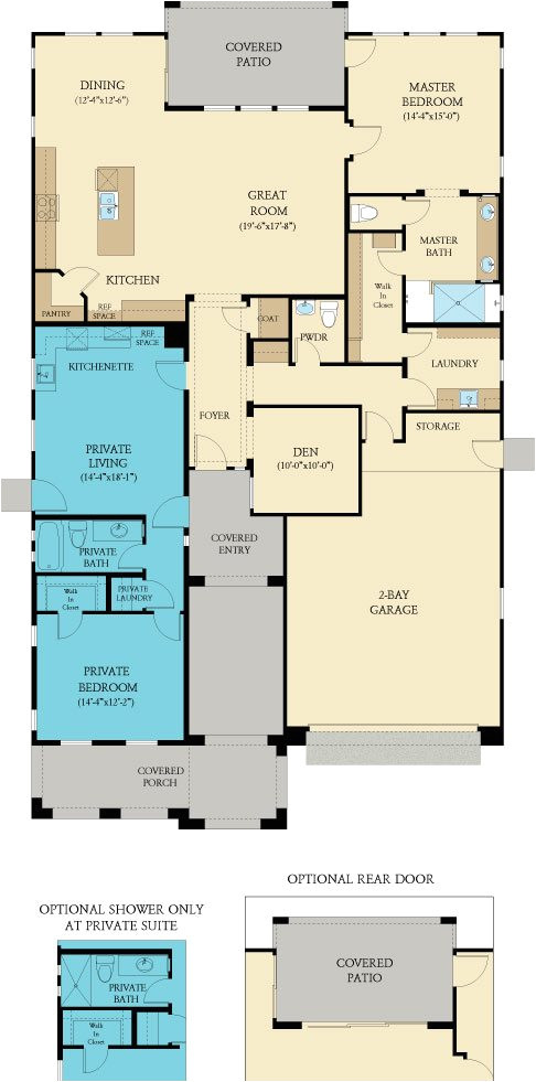 Next Gen Homes Floor Plans Pinnacle New Home Plan In Encore at Victory at Verrado by
