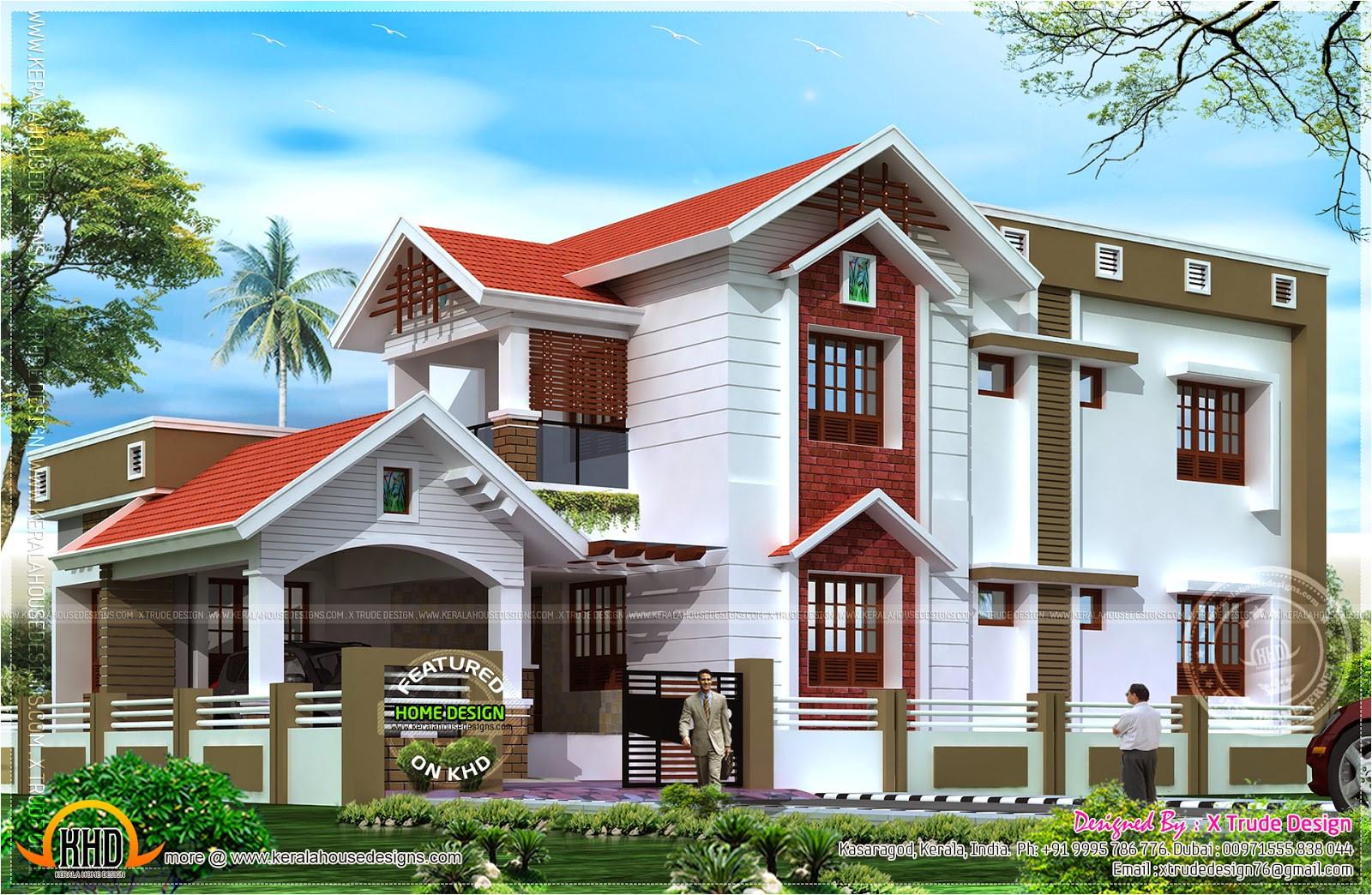 2401 sqft nice house renderings