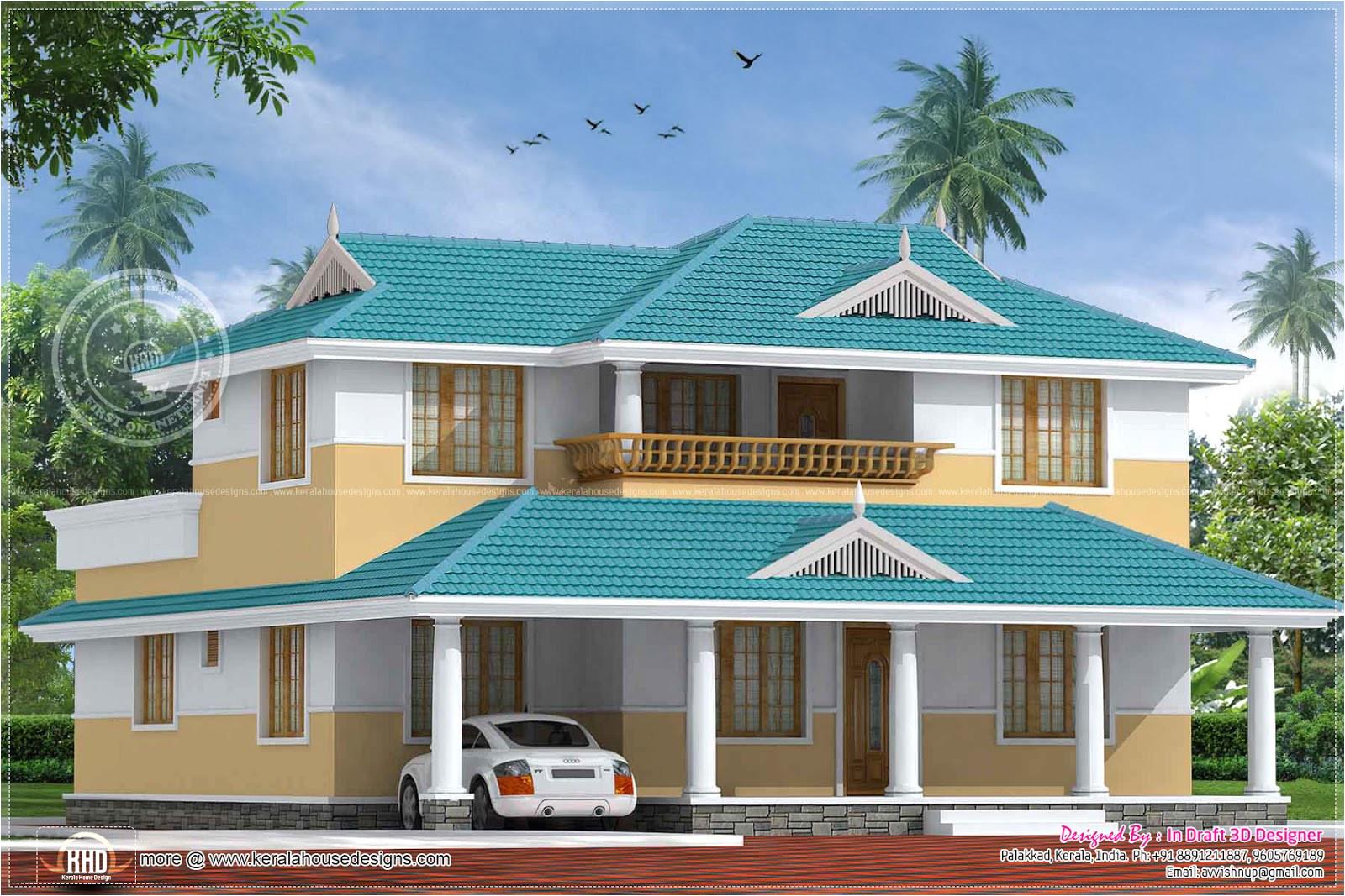 nice kerala home design