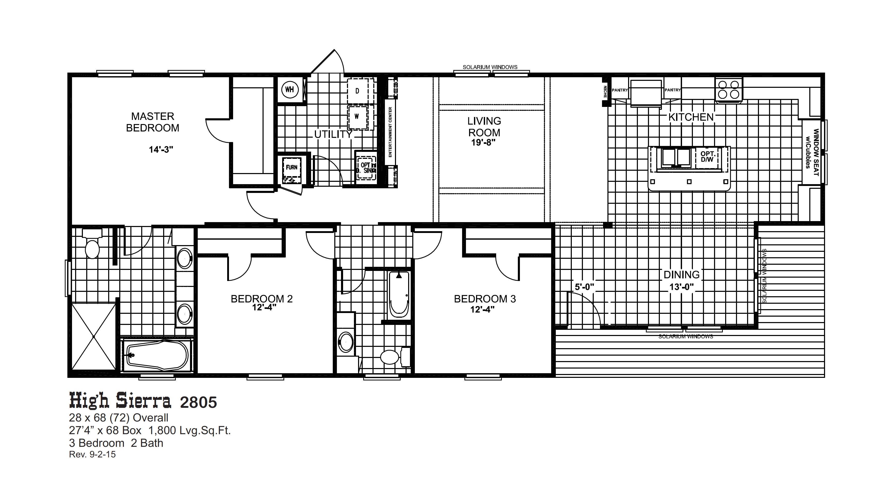 Oak Creek Homes Floor Plans Floorplans Oak Creek Homes