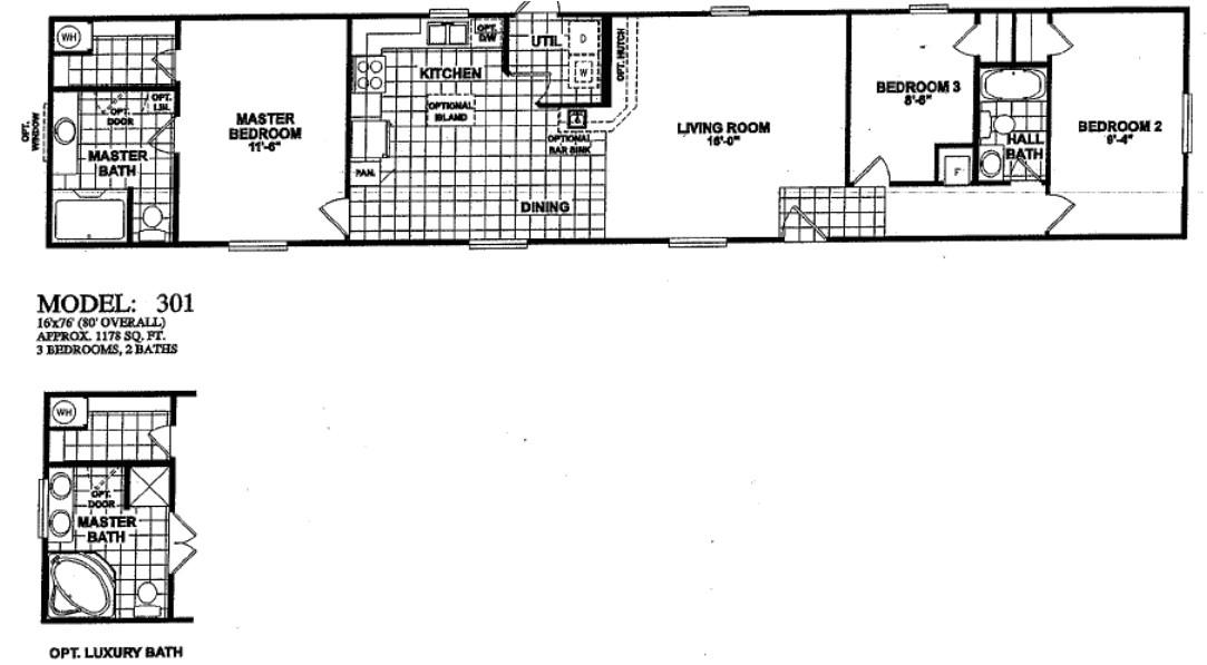 oak creek floor plans photos