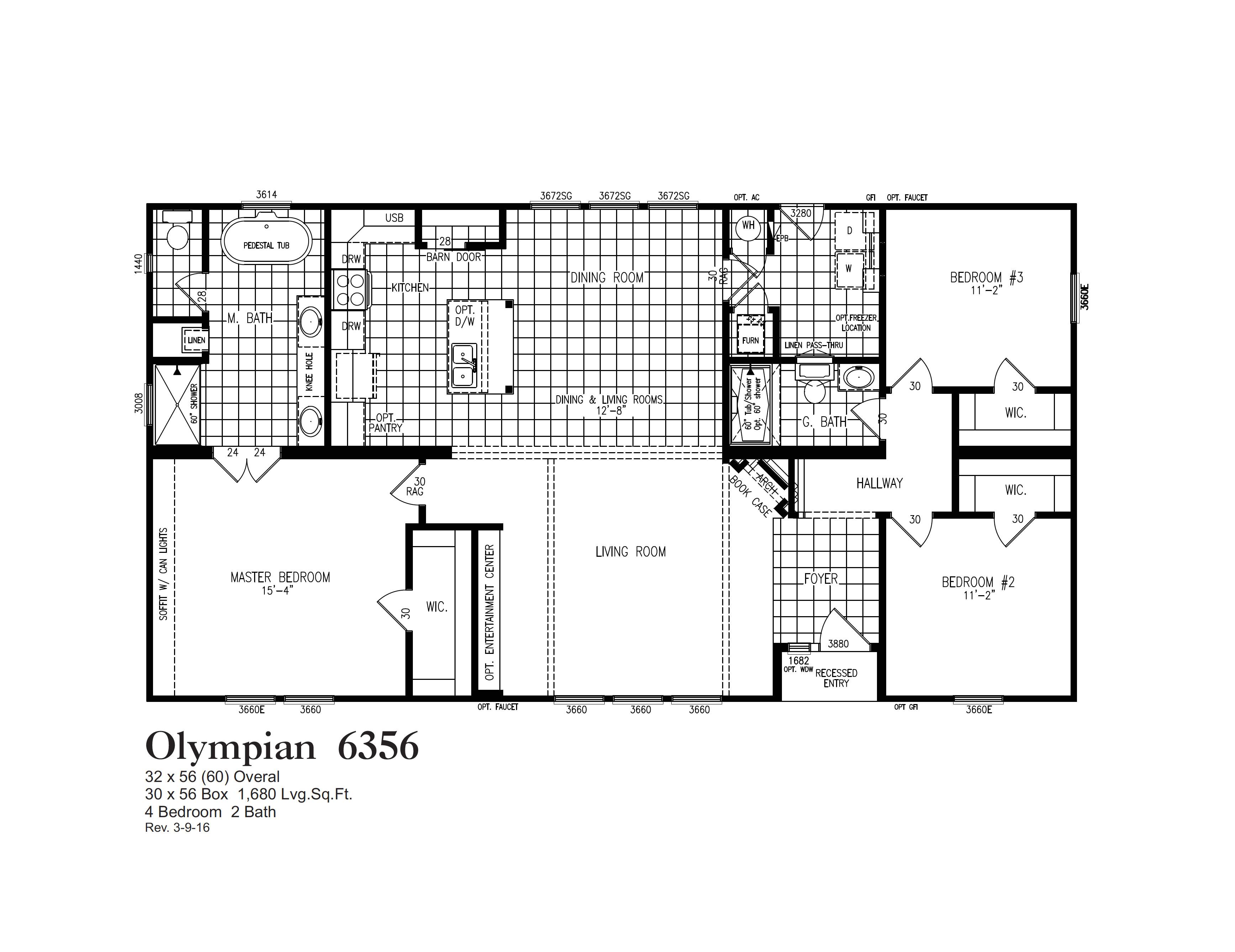 olympian 6356