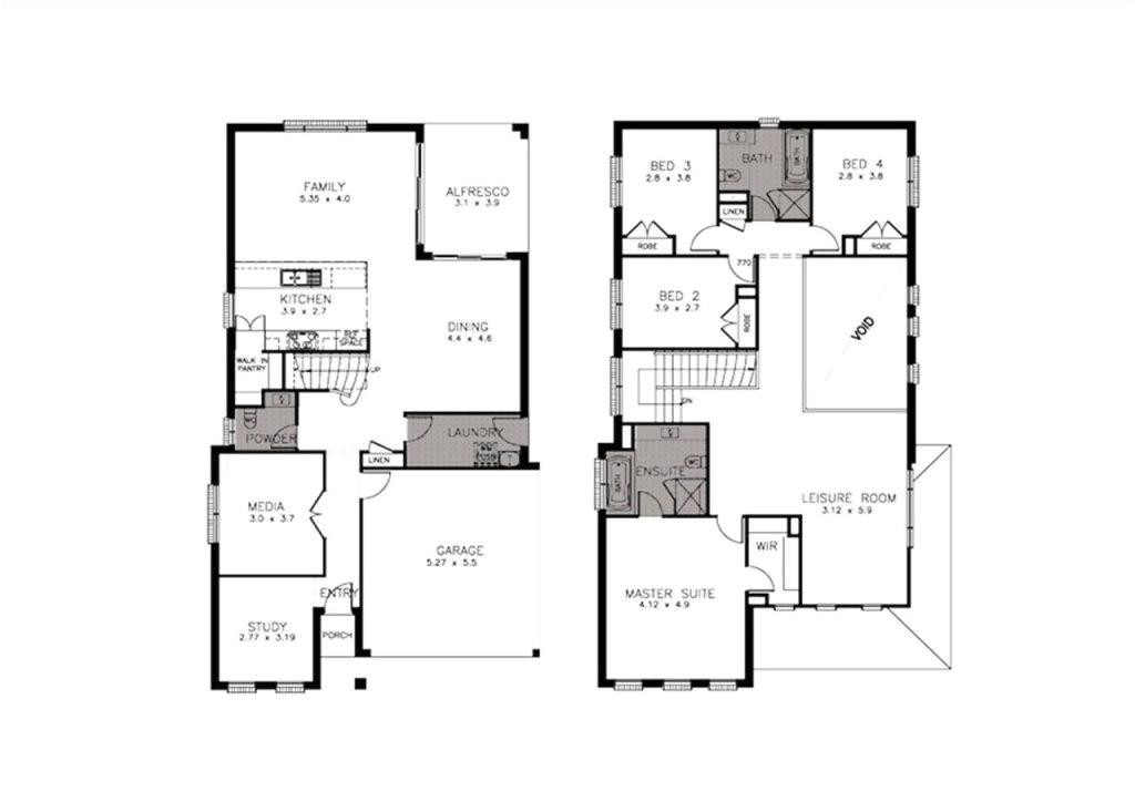obra homes floor plans