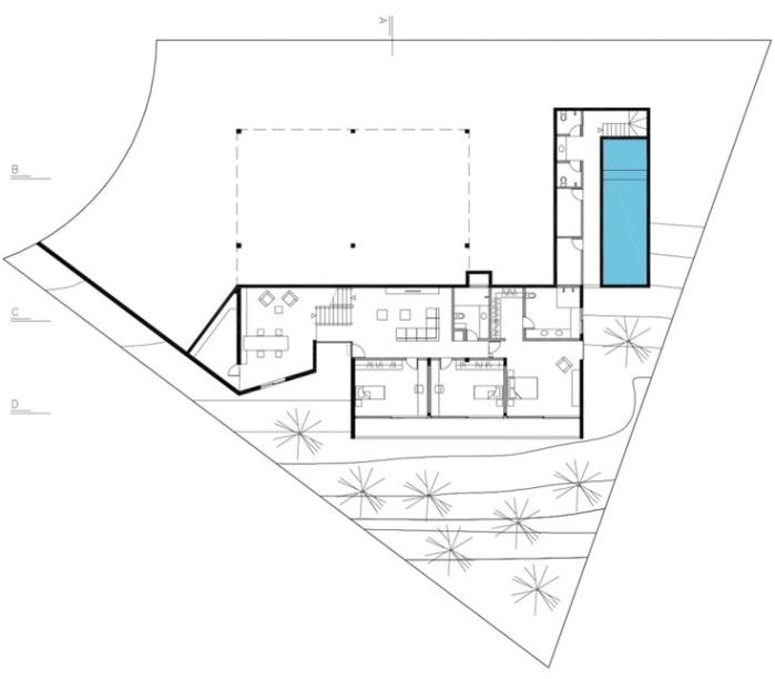 house jjobra arquitetos 16 floor plan pinterest inside obra homes floor plans