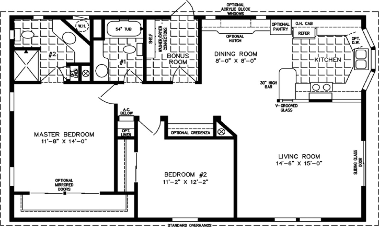 1500 square foot house plans 1 story