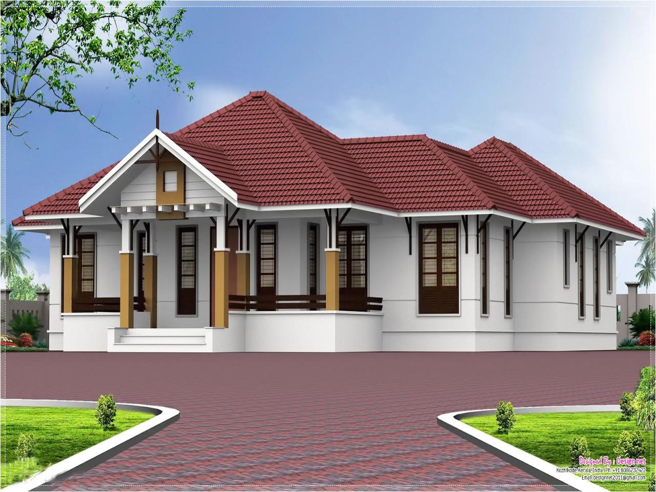 6cbbdbb4111facf1 single floor kerala home design kerala single floor 4 bedroom house plans