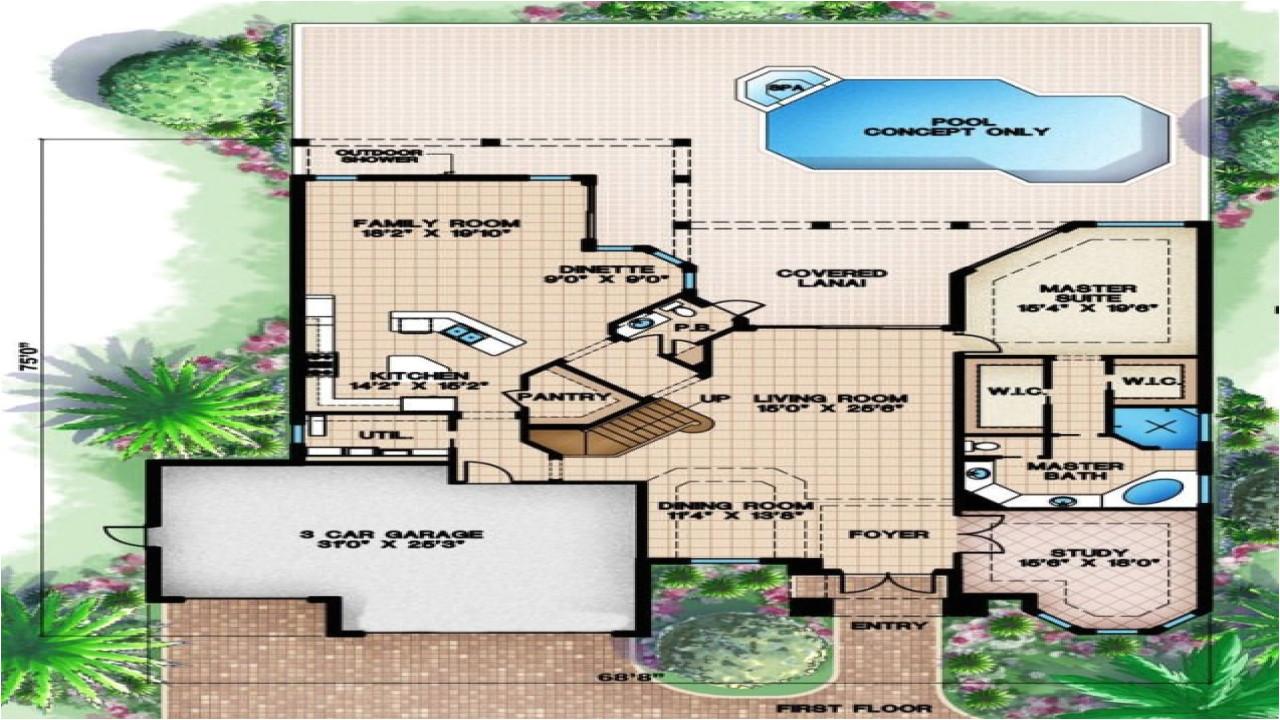 1d93c3b7a308b9e5 beach house plans one story beach house floor plan