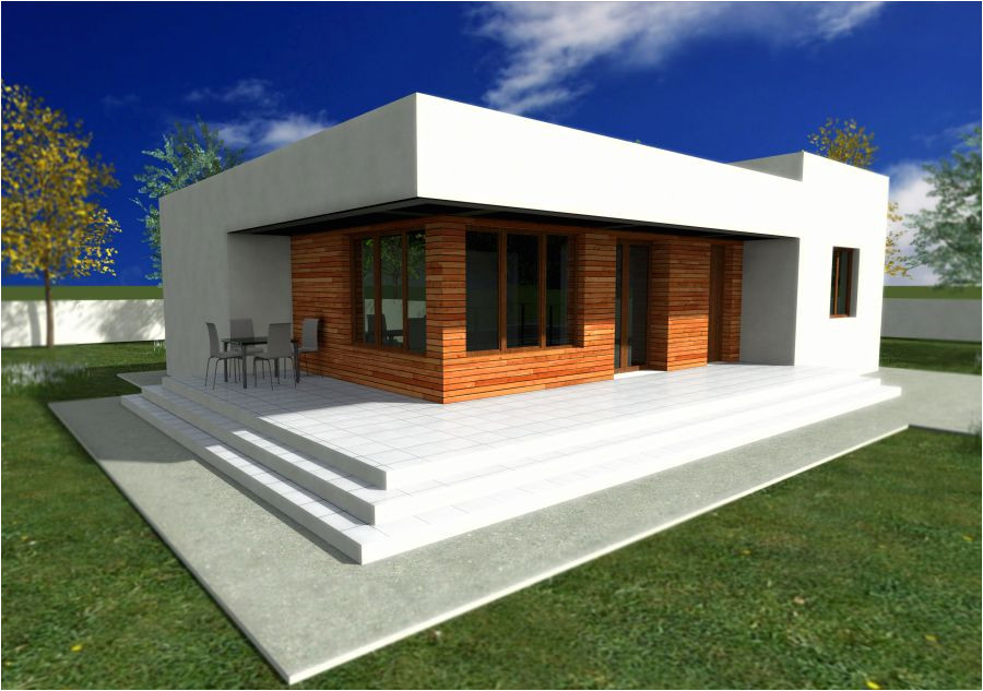 single story modern house plans small means practical