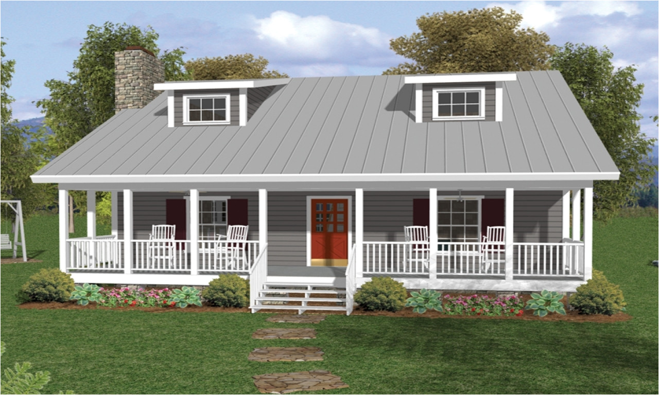 4639 one floor house plans with porches