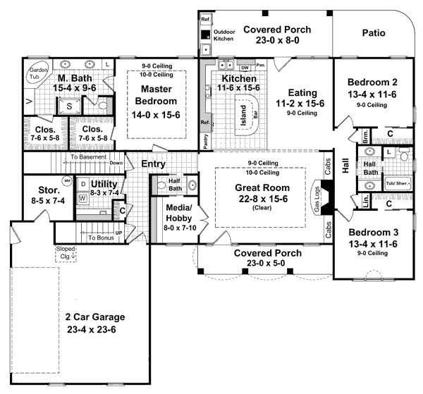 one level house plans with no basement beautiful stylist and luxury e level house plans with no basement plan