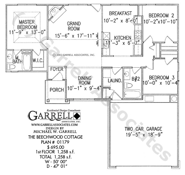 One Level House Plans with Two Master Suites Ranch Style House Plans with Two Master Suites Cottage