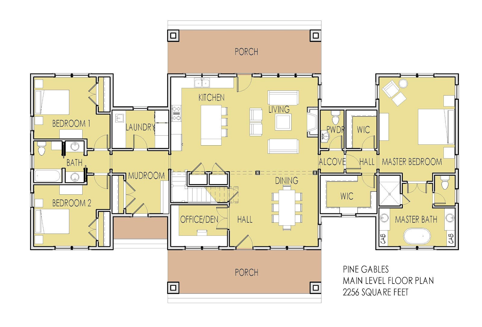 One Level House Plans with Two Master Suites Simply Elegant Home Designs Blog New House Plan Unveiled
