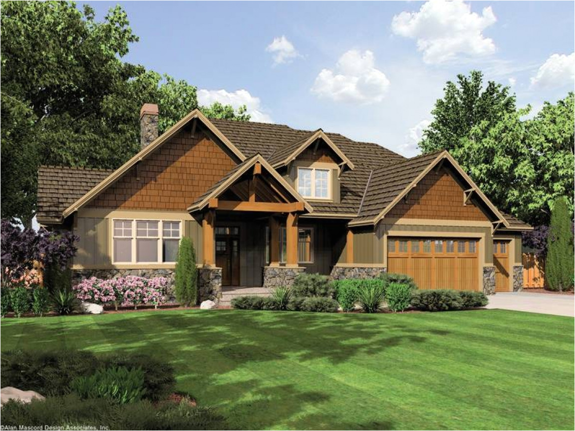 50b93a68813bcf7b single story craftsman style house plans single story prairie style houses