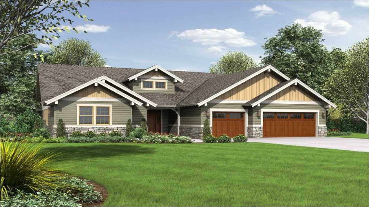 a536411c69748263 single story craftsman style house plans single story craftsman style house