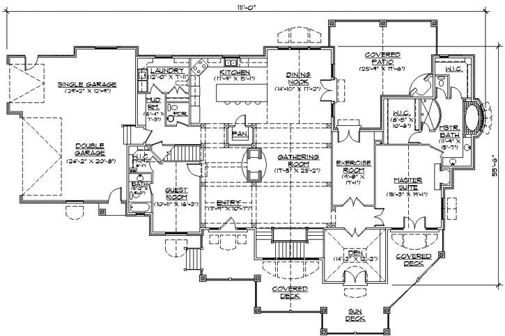 beautiful single story luxury house plans 7 luxury house plans one story homes