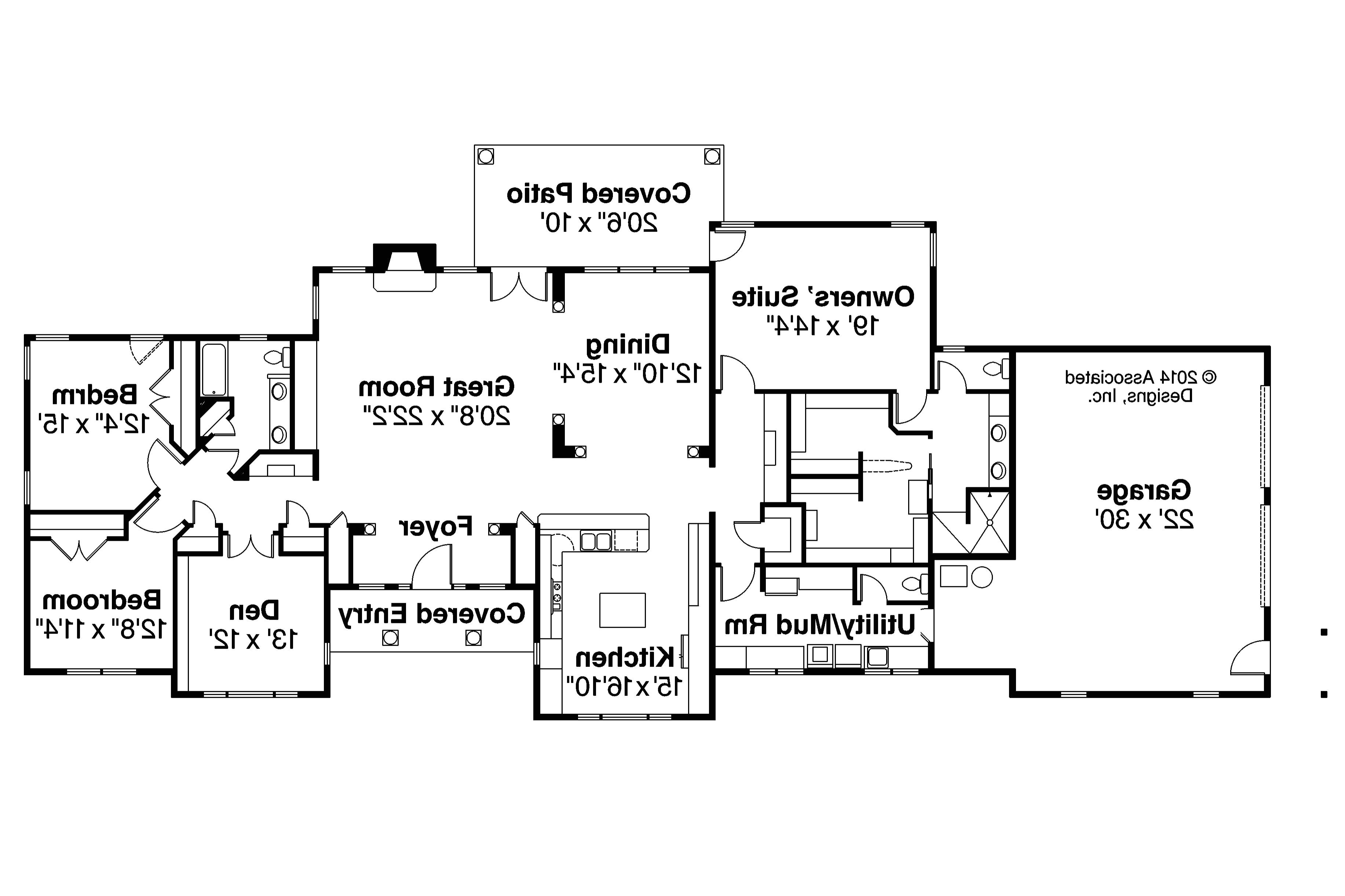 one story post and beam house plans