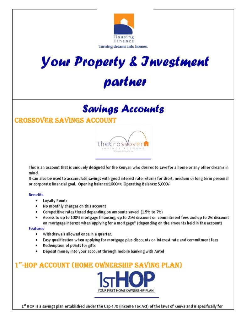 home ownership savings plan