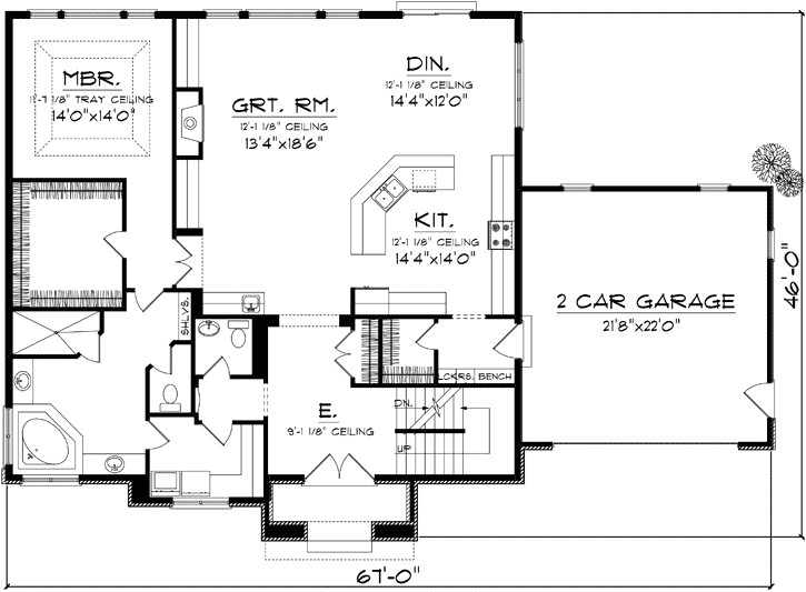 2 story house plans open concept