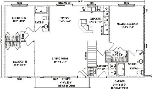 open floor plans for ranch style homes