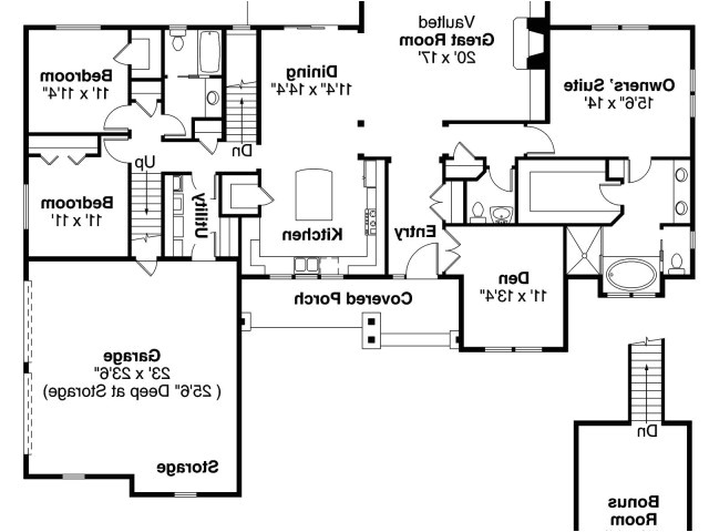 open floor plans ranch style house