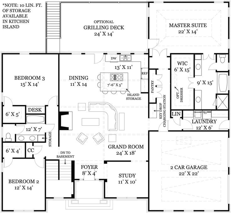 open concept floor plans for small homes
