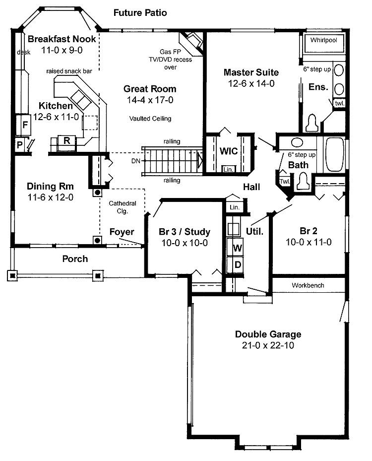 house plans open floor plan picture