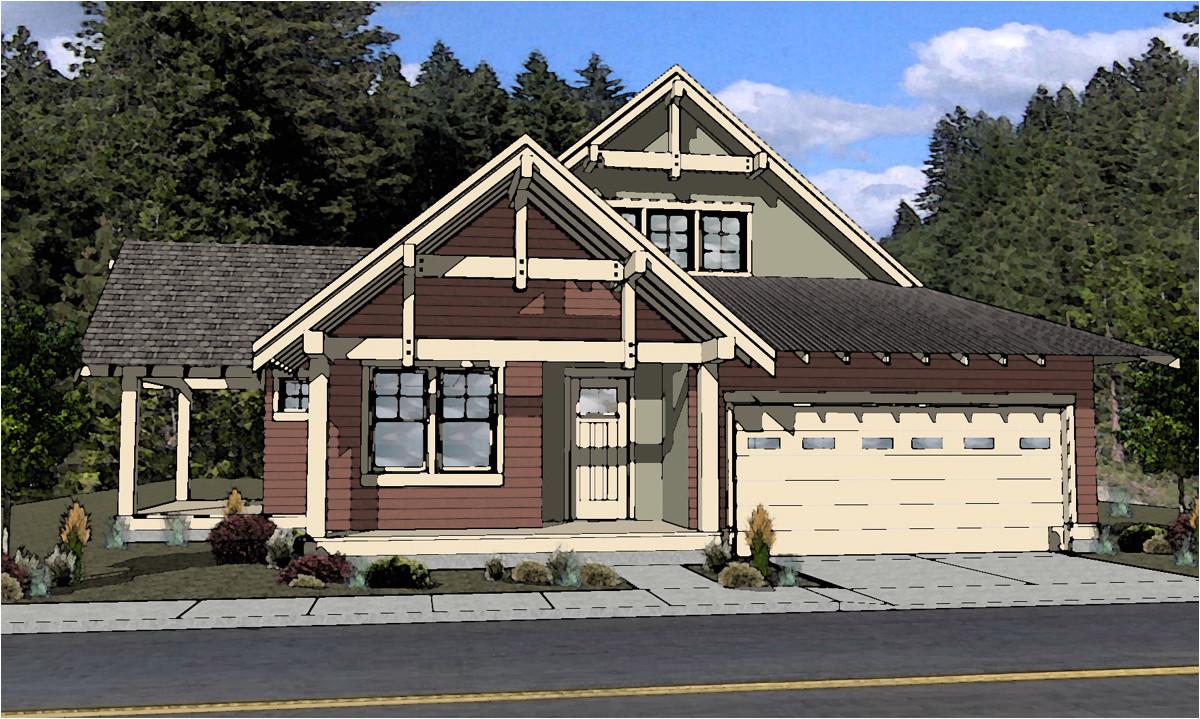 bend oregon craftsman home plans