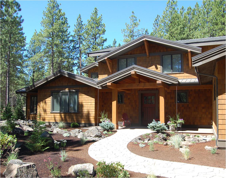 Oregon Home Plans Custom Home Design Bend oregon Home Plans Designs