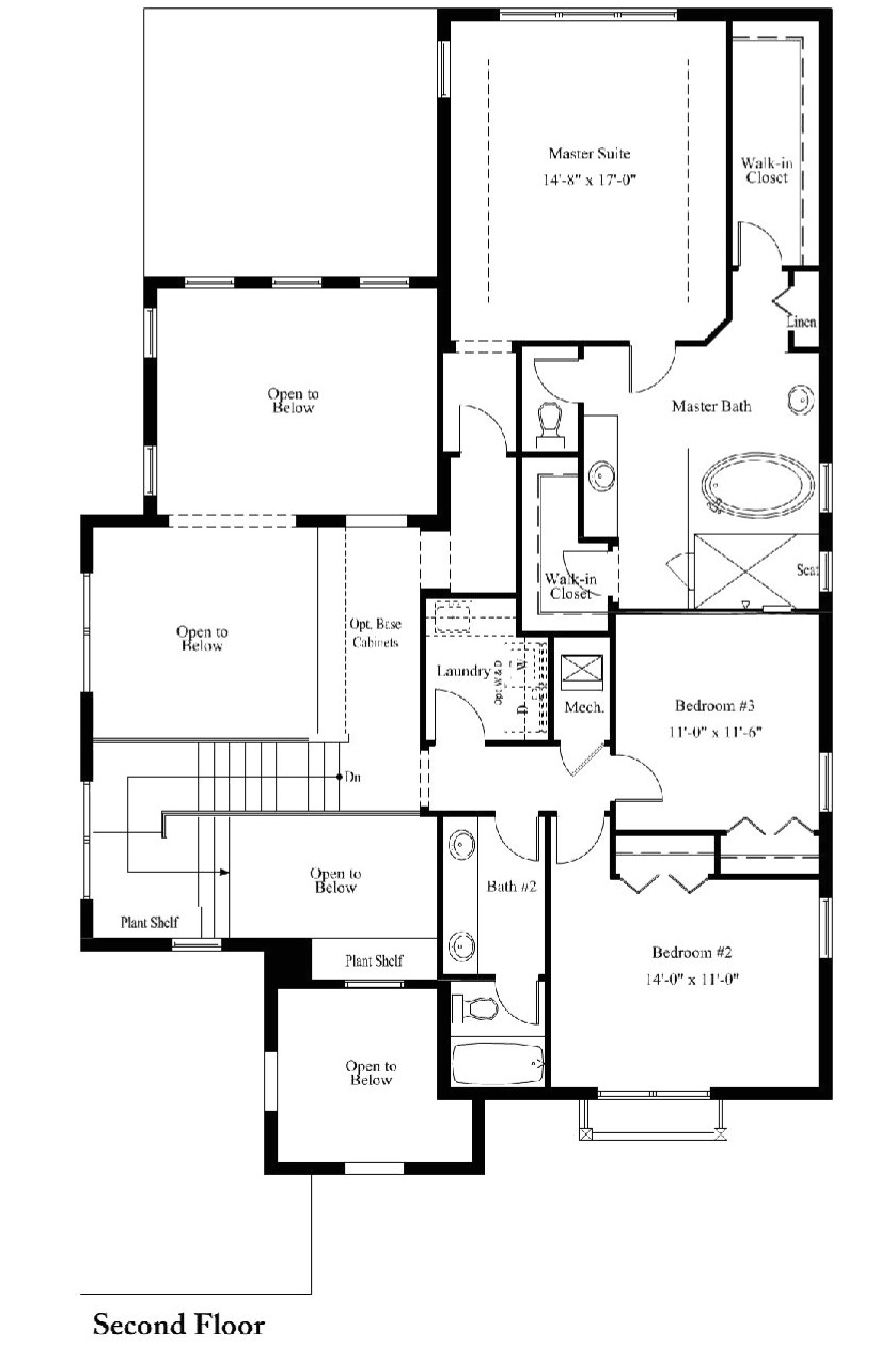 standard pacific homes floor plans