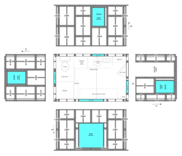 pallet house plans design ideas