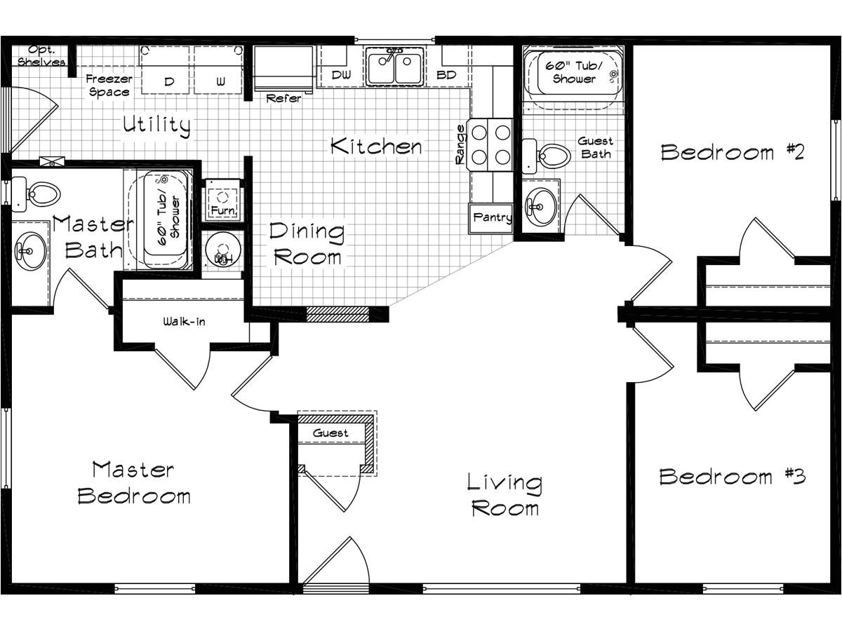 palm harbor homes 2003 floor plans