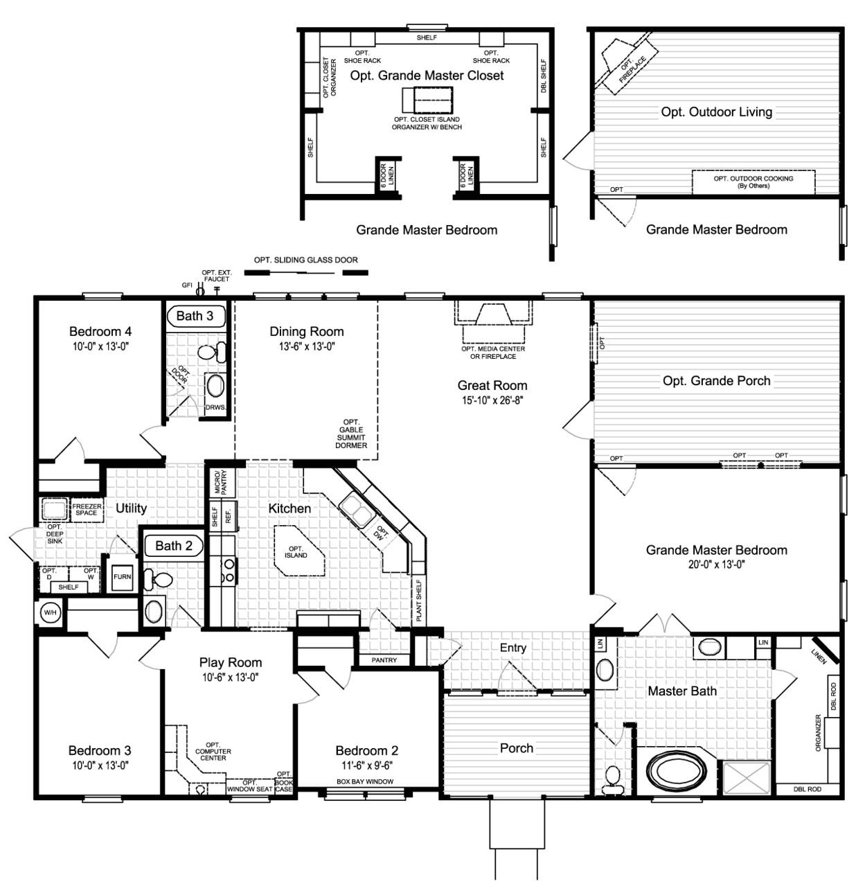 Palm Harbor Manufactured Homes Floor Plans Palm Harbor Homes Floor Plans Elegant the Hacienda Ii Vr A