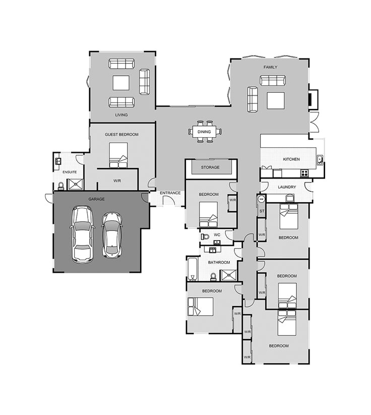 paradise homes floor plans unique 114 best house plans images on pinterest